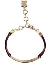 BCBGMAXAZRIA - Velvet Bracelet - Lyst