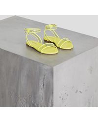 BCBGMAXAZRIA Bcbg Cara Sandal - Yellow