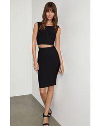 BCBGMAXAZRIA Bcbg Pencil Skirt - Black