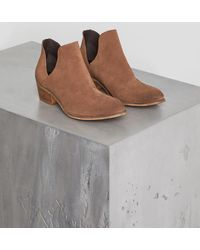 BCBGeneration - Ree Suede Ankle Boot - Lyst