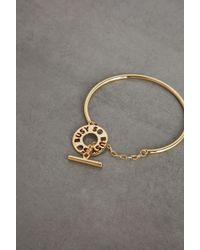 BCBGeneration So Busy Charm Cuff Bracelet - Metallic