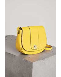 BCBGeneration - Alena Faux-leather Saddle Bag - Lyst