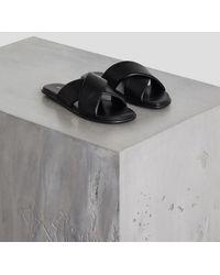 BCBGeneration Eloise Slide Sandal - Black