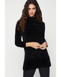 BCBGeneration Cowl Neck Sweater - Black
