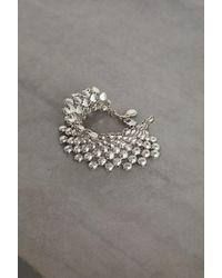 BCBGeneration Dome Bead Bracelet - Metallic