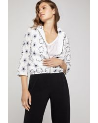 BCBGeneration - Floral Embroidered Utility Jacket - Lyst
