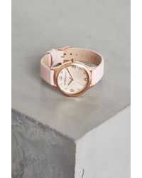 BCBGeneration - Pink Strap Watch - Lyst