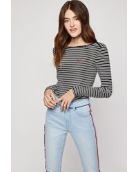BCBGeneration - Ribbed Top - Lyst