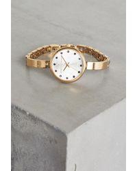 BCBGeneration - Gold-tone Cuff Watch - Lyst