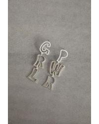 BCBGeneration Girl Power Drop Earring - Metallic