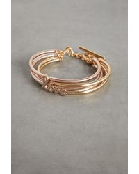 BCBGeneration Love Toggle Bracelet - Metallic