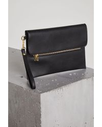 BCBGeneration - Sara Faux-leather Convertible Clutch - Lyst