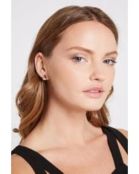 BCBGeneration - Face Post Earring - Lyst