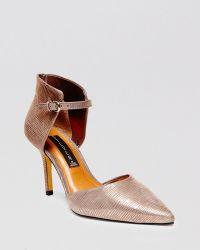 Steven by Steve Madden - Pointed Toe D'Orsay Court Shoes - Nadene High Heel - Lyst