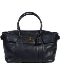 Mulberry Bayswater Buckle Coloured Veg Tanned - Lyst