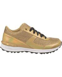 Sam Edelman Dax Metallic Sneakers - Lyst