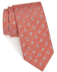 Strong Suit - Paisley Silk & Wool Tie - Lyst