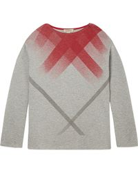 Burberry Faded Check T-shirt 4-14 Years - Lyst