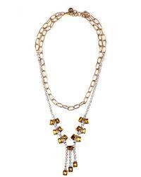 Lulu Frost Duchess Necklace  Yellow - Lyst