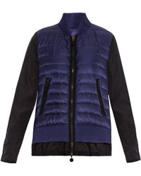 Moncler Avril Quilted Panel Jacket - Lyst