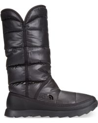 The North Face Womens Amore Cold Weather Boots - Lyst
