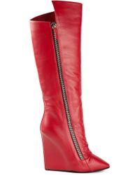 Giuseppe Zanotti Wedge Boots - Lyst