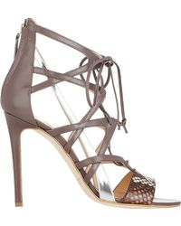 Alejandro Ingelmo Boomerang Strappy Sandals - Lyst