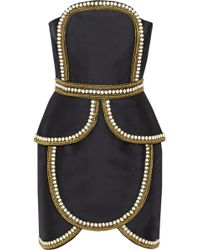 Sass & Bide - The Cold Snap Embellished Cotton And Silk-Blend Dress - Lyst