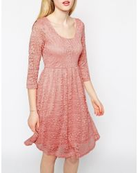 Max C - Max C Skater Dress In Lace - Lyst