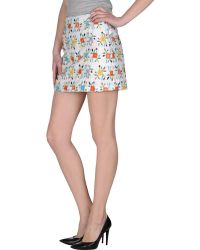 YMC Mini Skirt - White