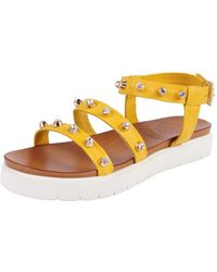 Vince Camuto Serine Sandal yellow - Lyst