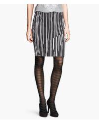 H&M Striped Tights - Lyst