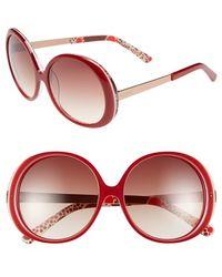 Kensie | 'kyla' 54mm Sunglasses | Lyst
