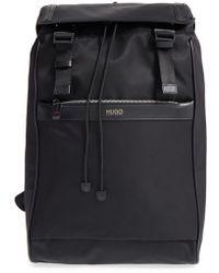BOSS - Nylon Tech Backpack - Lyst