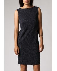 Azalea Sleeveless V-Back Dress blue - Lyst