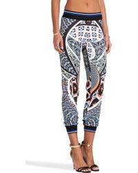 Clover Canyon - Cuban Tile Pants in Black - Lyst