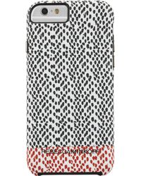Rebecca Minkoff Snake Print Iphone 6 Phone Case - Lyst