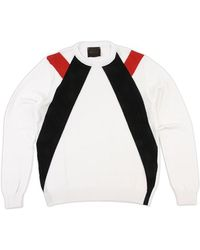 Relive White Cotton Pullover - Lyst