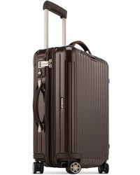 Rimowa - Salsa Deluxe Cabin Multiwheel® Iata (brown, 35-litre) - Lyst