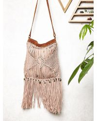 Free People Cascading Fringe Crossbody - Lyst