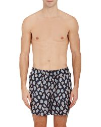 Acne Studios Perry Swim Trunks - Blue