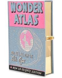 Olympia Le-Tan Wonder Atlas Clutch Book - Lyst