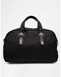 Esprit Nylon Weekender Bag - Black