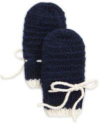 Brora - Cashmere Knit Mittens - Lyst