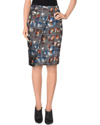 Ready To Fish By Ilja - Knee Length Skirt - Lyst