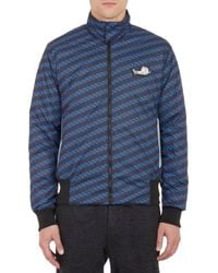 Kenzo Graphic Trees-print Packable Bomber Jacket - Lyst