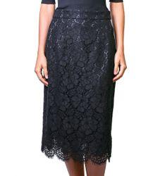 Dolce & Gabbana | Black Skirt | Lyst