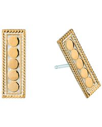 Anna Beck - Bar Stud Earrings - Lyst