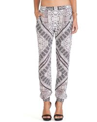 Twelfth Street by Cynthia Vincent Jogger Pants - Lyst