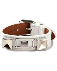 Proenza Schouler Studded Bracelet - White